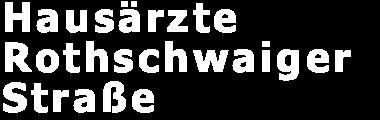 Hausärzte Rothschwaiger Straße Logo